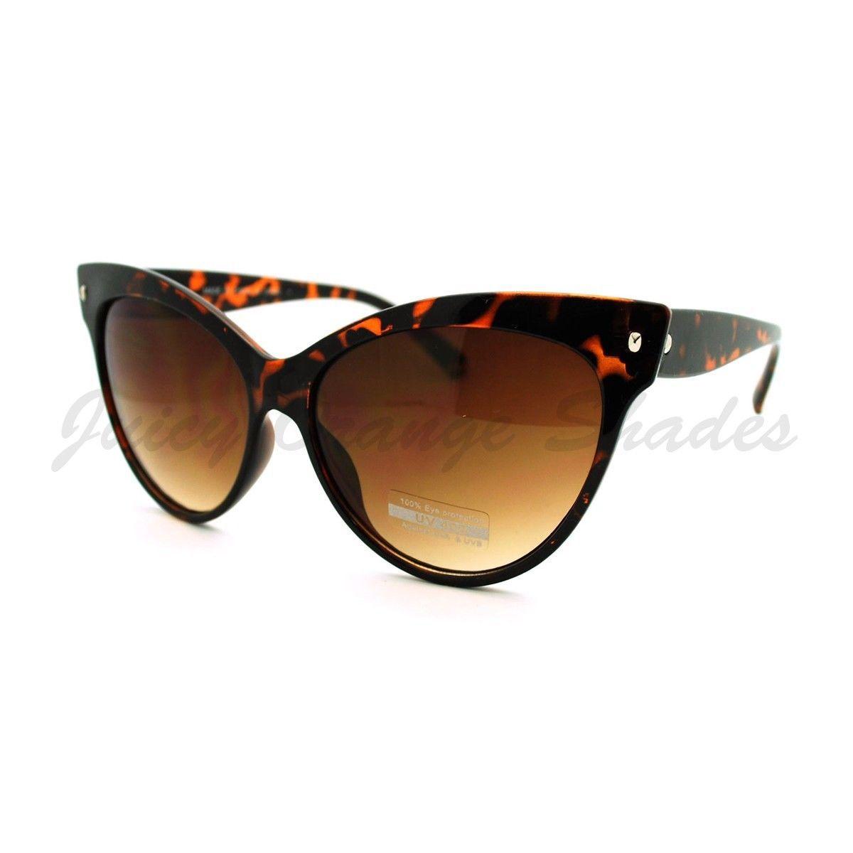 Super Cateye Sunglasses 50's 60's Fashion Iconic Shades