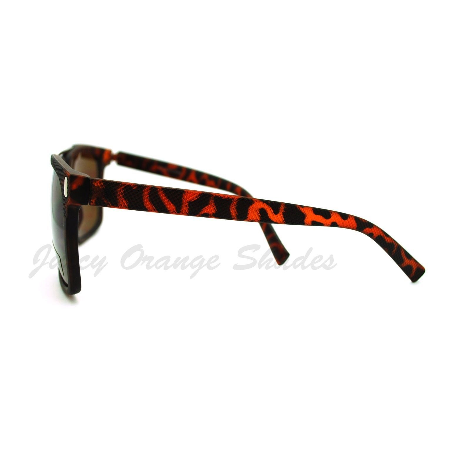 Unisex Retro Fashion Sunglasses Stylish Square Flat Top Shades