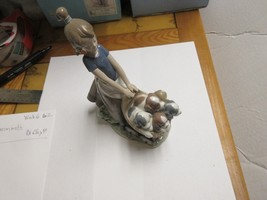 "LLADRO , Antique , BRILLO , 9""X7""X3"", Old / New Inventory , # 5.364 - $222.75"