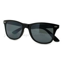 Thin Square Horn Rimmed Sunglasses Classic & 2-tones Unisex - $7.95