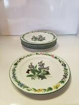 """Set Of 6 Royal Worcester Fine Porcelain 8 1/4"""" Salad Plate VG - $35.63"""