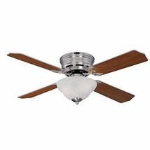 Westinghouse Lighting 7230400 Hadley Indoor Ceiling Fan with Light, 42 Inch, Bru - $108.87