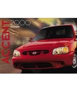 2000 Hyundai ACCENT sales brochure catalog US 00 GL GS - $6.00