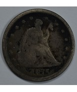 1875 S Seated Liberty 20 cent silver coin - $100.00