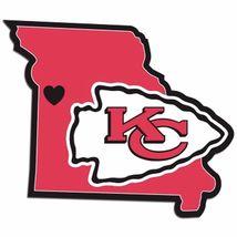 NFL Kansas City Chiefs Home State Auto Car Window Vinyl Decal Sticker - $4.95