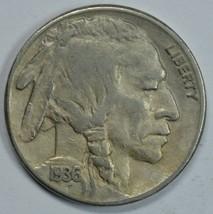 1936 S Buffalo circulated nickel - $11.75