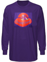 Personalized Red Hat Chapter Name Longsleeve Purple T Shirt 2 X  - $31.67