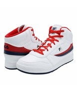 FILA BBN 84 NS MID LEATHER TRAINER SPORTS SNEAKERS MEN SHOES WHITE SIZE ... - $69.29