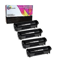 4 Pack Q2612A 12A FULL Toner Cartridges for HP LaserJet 3052aio 3055aio - $26.99
