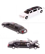 Lincoln Stretch Limousine I Love NY Kinsmart Die-Cast Metal Cars 1:38 Sc... - $12.99