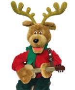 Telco Reggie Rockin Reindeer Animated Musical Singing Holiday Motionette... - $199.00