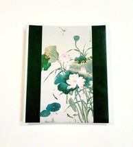 "Vintage 1978 Hallmark ""Lotus"" Photo Album Frances Wolfson 12.5x11 W/ 5 P... - $21.20"