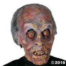 UHC Scary Dorian Zombie Latex Horror Theme Party Halloween Costume Mask - £48.39 GBP