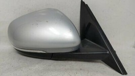 2016-2017 Jaguar Xf Passenger Right Side View Power Door Mirror Silver 51229 - $310.38