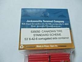 Jacksonville Terminal Company # 535050 Canadian Tire 53' Standard Container (N) image 2