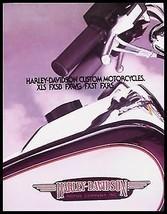 1984 Harley Davidson Custom Brochure XLS Roadster Low Rider Wide Glide S... - $20.18