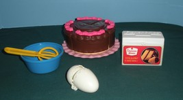 Vtg. Fisher Price Fun-with-Food #6510 Cake Baking Fun Comp./EXC++-NR MIN... - $36.00