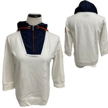 Lauren Active Ralph Lauren Womens 3/4 Sleeve Jacket with Hoodie Women's ... - $27.72