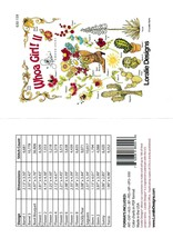 Whao Girl 2- Embroidery CD by Loralie Designs ~ 16 Designs - $37.39