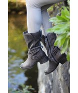 Timberland Whittemore Boots Mid Calf Gray Leather 6 women $238 - $52.99
