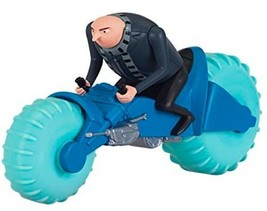 Despicable Me 3 FLAMINGO WATER CYCLE with GRU Toy Figure NEW Fun Gift - $9.94