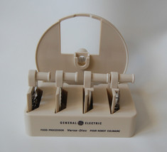 Vintage General Electric Versa-Disc Food Processor Accessory Kit GE Set ... - €23,74 EUR
