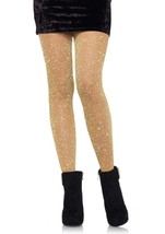Leg Avenue™Dressy Sexy Lurex Shimmer Tights Costumes/Club Wear/ Holiday/... - $11.99