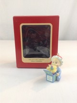 New 1991 Carlton Cards Baby Boy's Boy First Christmas Tree Ornament - $9.49