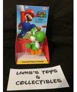 "Super Mario Jakks Pacific 2.5"" collectible figure 2019 Running Green Yos... - $13.29"