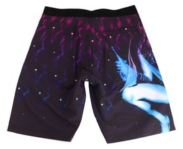 "NEW TITS MEN'S  SURF SWIMWEAR SWIM TRUNKS BOARD SHORTS PURPLE ""CHAMPAGNE WISHES"" image 2"