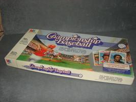 Championship Baseball Milton Bradley 1984 Part: Box ONLY! - $10.00