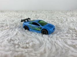 2003 Mattel Hot Wheels Asphalt Assault Stunt Team Diecast Toy car vehicle Blue - $5.25