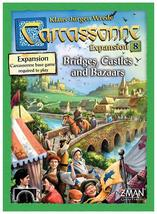 Carcassonne expansion 8 bridges  castles  and bazaars thumb200