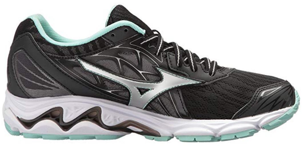 Mizuno Wave Inspire 14 Sz 9 M (B) EU 40 Women's Running Shoes Black 410985.9073 image 2