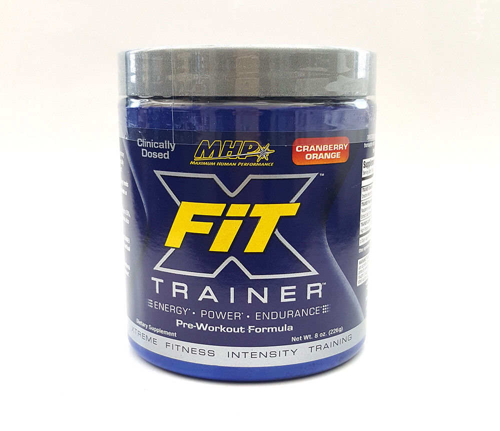 Primary image for MHP X-FIT TRAINER Pre-workout 226g - Optimum Nutrition Gaspari BSN NO-Xplode