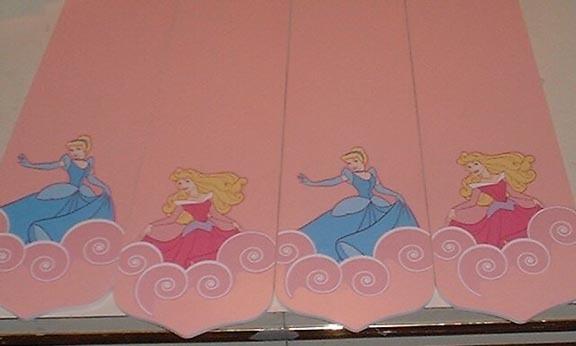 CUSTOM ~ ~ ~Lovely DISNEY Princess Ceilng Fan w/ Cinderella & Snow White