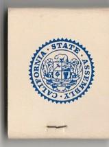 Vtg Strike on Matchbook  Speaker Bob Monagan California State Assembly 1... - $11.87