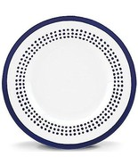Kate Spade Charlotte Street East Blue Dotted Accent Plate - $25.02