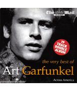 Art Garfunkel Best Of UK Promo 2 Cd Across America Live The Mail 19 Tracks - $6.99