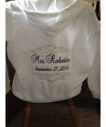 Personalized Bridal Bride Mrs. Soon to be Hoodie Hoody Sweatshirt Zip up... - $43.99
