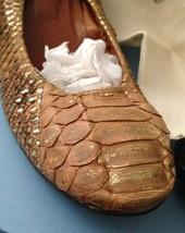 $1295.00 Fashionista Fave Lanvin Python Ballerina Flats 41 11 - $556.00