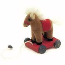 "Boyds Bear Wuzzie ""Giddyup Stringalong"" 3"" Pony Cart- #596201 -NWT-Retired - $16.99"