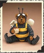 "Boyds Shoe Box Bear ""Buzzby Q. Bear"" 4.25"" Bee Bear- #3256- 2E- NIB-2006 - $19.99"