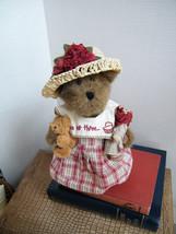 "Boyds Bears "" Trissy Teabeary"" 10"" Longaberger Bear-  #94643LB- NWT-2002-Retired - $39.99"