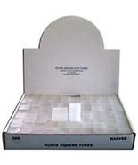 Numis Brand - Half Dollar Square Coin Tubes Storage (5pk) - ₨328.93 INR
