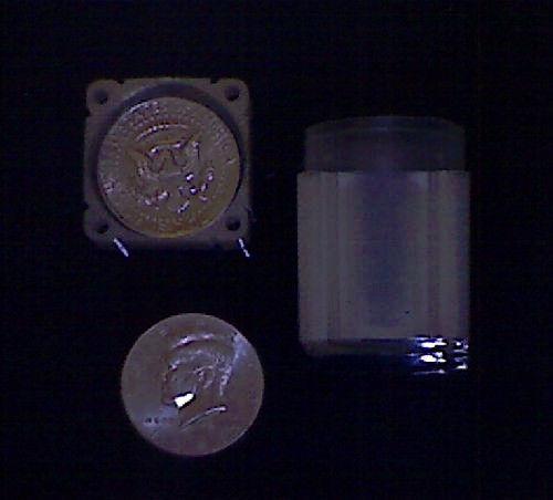Numis Brand - Half Dollar Square Coin Tubes Storage (5pk)