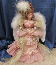 """14"""" Collectible Victorian Angel Christmas Tree Topper or Tablepiece - $25.65"""