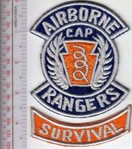 US Civil Air Patrol CAP Airborne Rangers & Survival Rocker US Air Force ... - $9.99