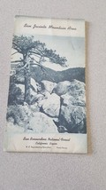 1963 San Jacinto Mountain Area National Forest Fold Out Map - $9.89