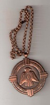 Vintage Copper Navaho Firebird / Thunderbird Necklace - $30.00